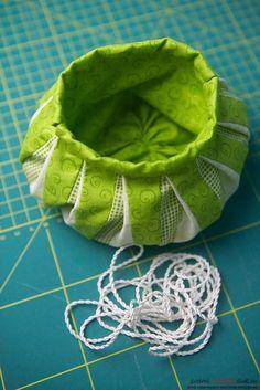 Изготовление японского мешочка омияге в стиле японского пэчворка. Фото №18