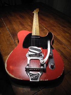 Tele with Bigsby B16