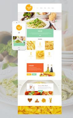 Lpo Template Gourmet Landing Page Template  Pinterest  Template Ui Ux And Website
