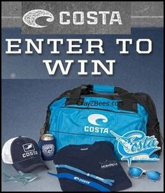 Costa Sunglasses Ocearch Sweepstakes WIN Costa Daily Prize Packs or a Trip to Cape Cod Enter DAILY-Ends 8/15