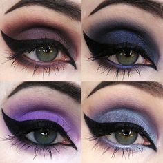 """Bestselling Mineral Eyeshadow sets are back in stock! """"We are those weirdos, mister."""" Unique purples, plus magical duochromes, equal the perfect shades for conjuring up"""