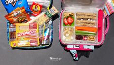 """""""Red Light, Green Light."""" There are some kids' lunch basics we consider as the bottom line. Prepackaged foods for lunch are bad, for kids and the planet."""