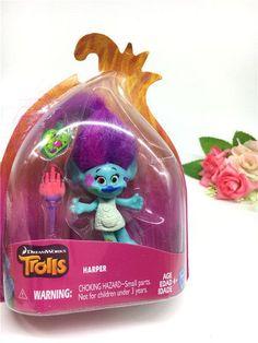 2016 New Trolls Dreamworks Movie Trolls Action Figure Toys Poppy Branch Kawaii Cartoon Trolls Dolls Toys for Children Kids Gifts