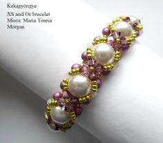 Kekagyöngye Beaded Bracelets, Jewelry, Fashion, Moda, Jewlery, Jewerly, Fashion Styles, Pearl Bracelets, Schmuck