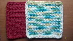 Soft and Simple Baby Washcloth-Free Crochet Pattern