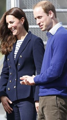 Kate Middleton and Prince William on a walkabout in Auckland City on the fifth day (Friday 11th April) of their New Zealand Royal tour.