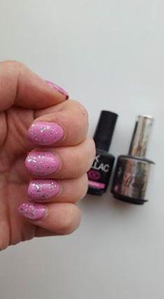 shared Renée Lagendijk's photo Na een hele lange tijd weer eens PinkGellac op gedaan! - Lollypop Pink met zilver ...