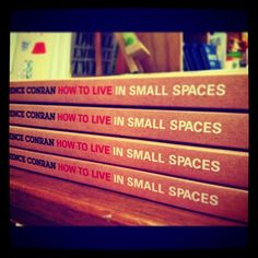 How To Live In Small Space by Terence Conran   Aksara    www.aksara.com