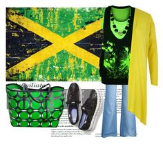 """""""Autumn in Jamaica"""" by peppermintdm on Polyvore featuring мода, WearAll, Keds, Michael Kors, River Island, rasta и rastastyle"""