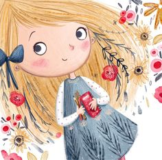 New cute illustration art girl sweets ideas Art And Illustration, Illustration Mignonne, Character Illustration, Art Fantaisiste, Art Mignon, Whimsical Art, Cartoon Art, Cartoon Memes, Cartoon Drawings