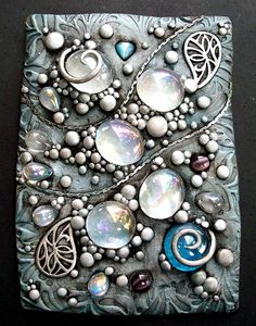 Silver sparkle ACEO 1 by MandarinMoon, via Flickr