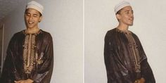 Bill O'Reilly releases rare unseen photos of Obama dressed as Muslim...