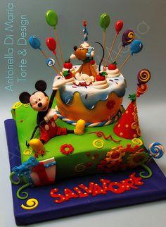 Mickey Cake by Antonella Di Maria