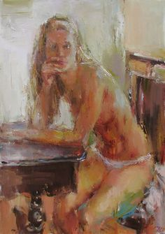 View Nelina Trubach-Moshnikova's Artwork on Saatchi Art. Find art for sale at great prices from artists including Paintings, Photography, Sculpture, and Prints by Top Emerging Artists like Nelina Trubach-Moshnikova. Painting Of Girl, Figure Painting, Painting Abstract, Painting Classes, Painting Canvas, Acrylic Paintings, Portrait Art, Portraits, Portrait Paintings