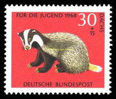 EBS Germany 1968 Youth - Jugend - Rare Animals - Seltene Michel 549-552 MNH** in Stamps, Europe, Germany & Colonies | eBay