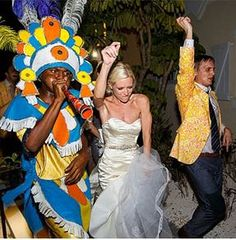 Beach House Wedding - Ben & Alexa with some local flavor! (Turks & Caicos)