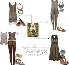 Daenerys in Dothraki Style #GoT