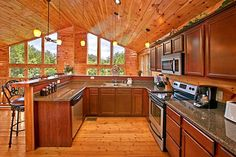 "The perfect kitchen to cook a dinner for two at ""Rest Assured!"""