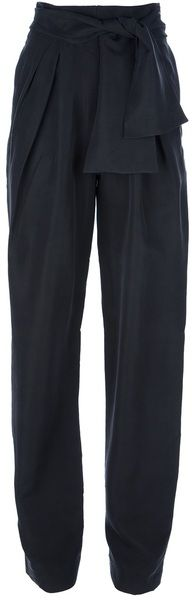 Balenciaga Black High Waisted Trouser