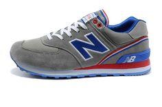 new balance 574 gris bleu