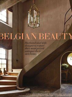 Splendid Sass: ALAIN AND BRIGITTE GARNIER ~ BELGIAN HOME DESIGN