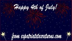 Happy Fourth of July! #Expats #AmericansAbroad #Holiday