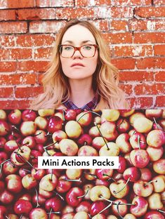 New! Mini Actions Packs from Shop.ABeautifulMess.com