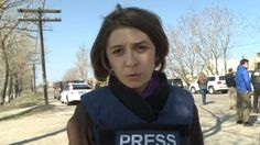 BBC's Natalia Antelava reporting from eastern Ukraine. Russian TV broadcast fake newscast reporting death of 10yo who did not exist