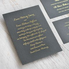 Simply put, stunning is your style. All you need is the right wording in the right color on gorgeous paper to create the perfect wedding invitation. Our Deluxe Collection of wedding invitations features foil stamping in gold, silver, rose gold and more.