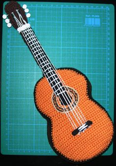 Amigurumi Guitar : 1000+ images about Amigurumis Coruna on Pinterest ...