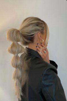 Hair Inspo, Hair Inspiration, Good Hair Day, Aesthetic Hair, Trendy Hairstyles, Braided Hairstyles, Hair Trends, Hair Goals, Blonde Hair