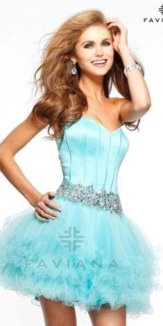 Faviana 7189 Short Dress