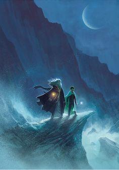 — Harry Potter Years 1-7 Artwork by Kazu Kibuishi