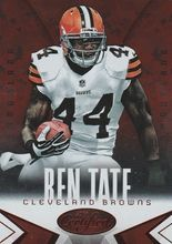 2014 Certified Camo Red #25 Ben Tate - Cleveland Browns