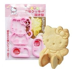 Hello Kitty 3D Cookie Cutter Mold USD$5.50