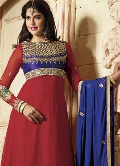 Exclusive Maroon Anarkali Suit With Embroidered Neck buy best designer sarees collections,Best Deals On Womens Wear online store, Best Deals On Anarkali salwar Kameez, End of Season Sale on Designer Dress Matirials and Kurti #dress #salwarkameez #cotton #designer #readymad #fancydress #Anarkali #Paiala #Punjabi #Casual #Long #Cotton #long #saree #designer #printedsaree #casualwear #casualstyle #casualsaree #silksarees