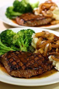 How to Make Steak and Mashed Potatoes on a Budget -- via wikiHow.com