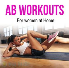 Ab workout for women at home is the latest trend & talk of the town.Visual Impact for women is basically targeted toward anyone who wants to get in shape Ab Workout For Women At Home, Workout Programs For Women, Workout Routines For Women, Ab Workout At Home, Hiit Workout Routine, Flat Abs Workout, Workout Fun, Great Ab Workouts, Lower Ab Workouts