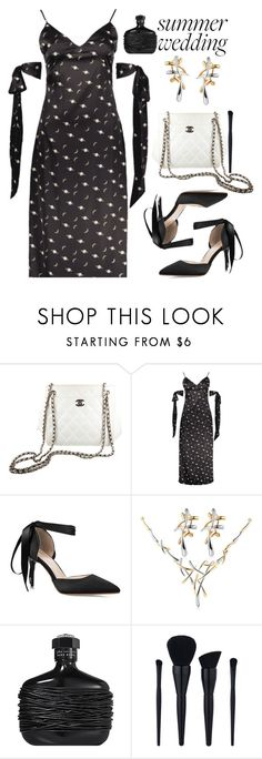 """""""Summer Weddings"""" by paculi ❤ liked on Polyvore featuring Chanel and John Varvatos"""