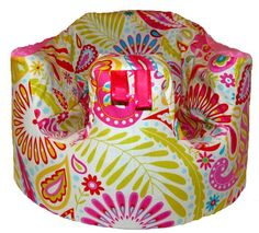 Home of the Orignial Bumbo Seat COVER in Kumari Garden Sanjay Pink on Etsy, $26.99 so cute!