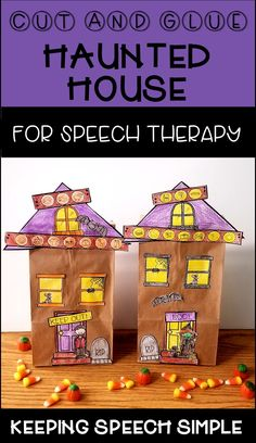 This fun speech craft for your articulation students is a great way to engage students with drill work. This no prep printable targets 57 speech sounds including blends and most vocalic /r/ sounds. You will need a paper bag, glue and some crayons or markers. All you need to do is just print the sheets you need. There is a bland template included so you can include our own targets. This craftivity is great for your early elementary students. No reading required! Click here to see more!