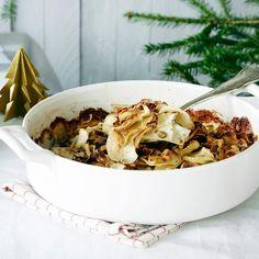Pähkinäinen juureslaatikko | K-ruoka #joulu