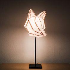 DIY-Lampenschirm Fuchs M, 28€, jetzt auf Fab.
