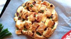 Hapje voor Oud en Nieuw: pizzaplukbrood