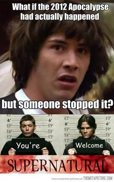 Thank you Sam and Dean!!!!
