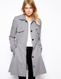 Grey Trenchcoat by Asos. Buy for $60 from Asos