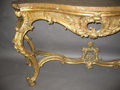 #rococo French Furniture, Classic Furniture, Vintage Furniture, Handmade Furniture, Home Decor Furniture, Wood Furniture, Rococo, Baroque, French Interior Design