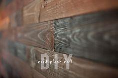 Wood Plank Wall DIY