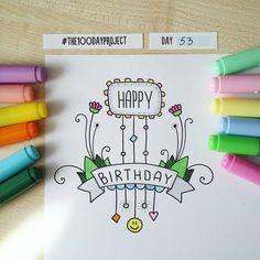 #100daysofdooodles2 #100dayproject #100daysproject #doodle #drawing #markers #copic #instaart #inspiration #happybirthday #рисунок #вдохновение #сднемрождения #маркеры