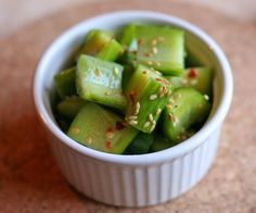 Asian Cucumber Salad - Eating Out Loud!